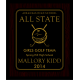 All State 8x10 Plaque