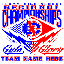 Texas Regional & State Event T-Shirt